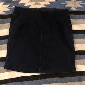 Croft & Barrow Stretch Denim Skirt Plus size 16